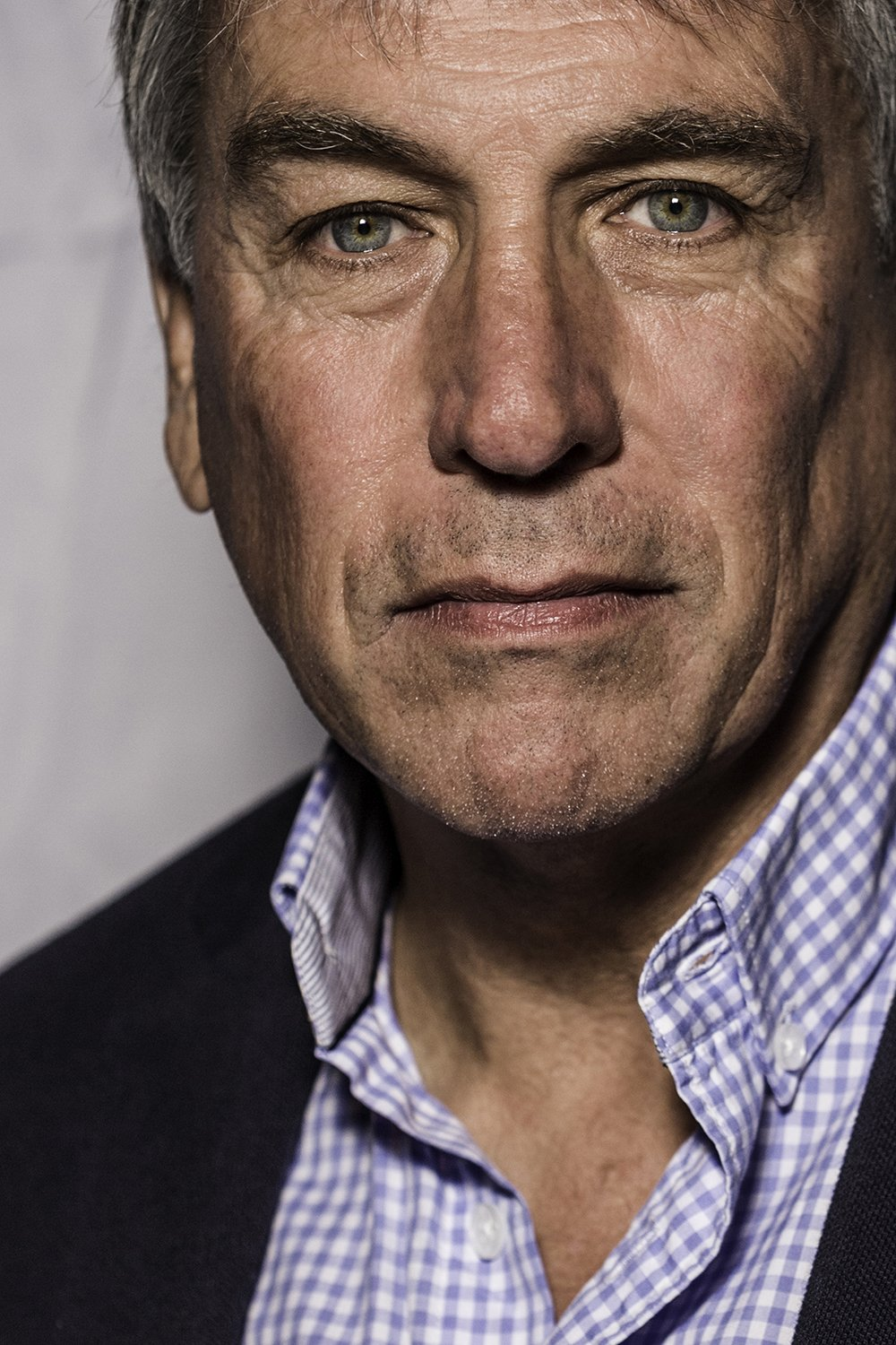 John Inverdale © Nick Gregan portrait photographer in London