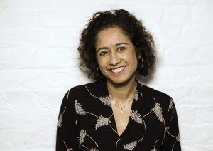 Samira Ahmed © Nick Gregan portrait photographer in London