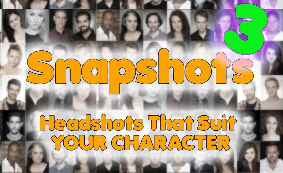 Actor's Headshot Advice Episode 3 of SNAPSHOTS – The Cloak of Character
